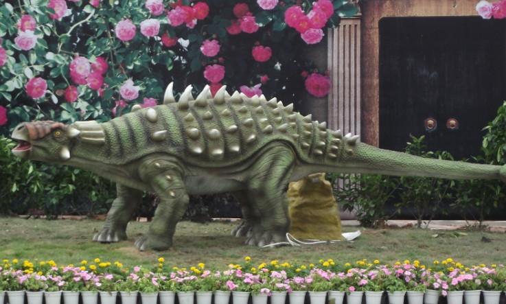 恐龙制作-自贡鸿鹤彩灯艺术展出有限公司